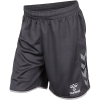 Hummel-Authentic Poly Shorts-Asphalt-2188779