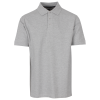 M79-Basic Stretch Pique Polo - Herre-Grey Melange-1274972