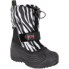 M79-Little Snow Boot - Børn-Zebra/Blac-1393113