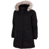 M79-Leisure Faux Fur Jakke-Black-1543227