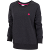 M79-Relaxed Soft Crew Sweatshirt-Black Melange-1546317