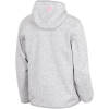 M79-Flat Fleece-White/Pink Blush Mel-1601250