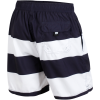 M79-Big Stripe Badeshorts-Navy/White Stripe-1612995