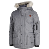 M79-Parka Coat-Dark Grey Melange-2022449