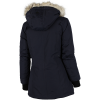 M79-Leisure Faux Fur Jakke-Navy-2022877