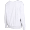 M79-Relaxed Soft Crew Sweatshirt-Bright White Melange-2105293
