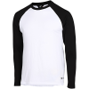 M79-Round Neck T-shirt L/Æ-White/Black-2107876