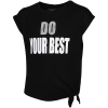Master-Statement Gym T-shirt-Black/White-2141841