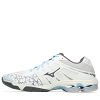 Mizuno-Wave Voltage-Snow White / Dark Sh-2174121