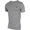 Nike Sportswear-Embroidered Futura T-shirt-Dk Grey Heather/Cool-1482081