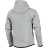 Nike Sportswear-Tech Fleece Essential Hoodie-Dk Grey Heather/Blac-2033859