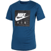 Nike Sportswear-Air Logo T-shirt-Blue Force/White-2067848