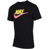 Nike Sportswear-T-shirt-Black/Yellow Pulse/P-2076076