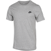 Nike Sportswear-Club T-Shirt-Dk Grey Heather/Blac-2077335