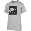 Nike Sportswear-Air Logo T-shirt-Dk Grey Heather/Blac-2077745