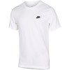 Nike Sportswear-Club T-Shirt-White/Black-2077978