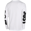 Nike Sportswear-Just Do It T-shirt L/Æ-White/White-2078266
