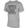 Nike Sportswear-Swoosh T-shirt-Dk Grey Heather-2078326