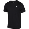 Nike Sportswear-Club T-Shirt-Black/White-2078941