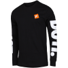 Nike Sportswear-Just Do It T-shirt L/Æ-Black/White-2079192