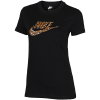 Nike Sportswear-Animal Print T-shirt-Black/Black-2094476