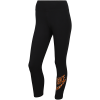 Nike Sportswear-Animal Print Leggings-Black-2094763