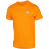 Nike Sportswear-Club T-Shirt-Orange Peel/White-2095037