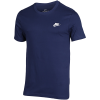 Nike Sportswear-Club T-Shirt-Midnight Navy/White-2116108