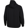 Nike Sportswear-Essentials Hoodie (Plus Size)-Black/White-2117671