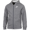 Nike Sportswear-Club Hoodie-Carbon Heather/Smoke-2118430