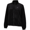 Nike Sportswear-Velour Track Top-Black/White-2132847