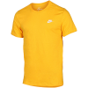 Nike Sportswear-Club T-shirt-University Gold/Whit-2152871