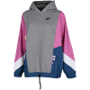 Nike Sportswear-Icon Clash Hoodie-Carbon Heather-2156674