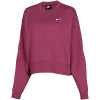 Nike Sportswear-Essentials Sweatshirt-Mulberry Rose/White-2156714