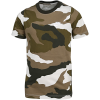 Nike Sportswear-Camo T-shirt-Light Bone/Sequoia/M-2158731