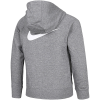Nike Sportswear-Swoosh Hoodie-Carbon Heather/Carbo-2158743