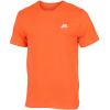 Nike Sportswear-Club T-Shirt-Electro Orange/White-2181816