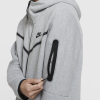 Nike Sportswear-Tech Fleece Hoodie-Dk Grey Heather/Blac-2182289