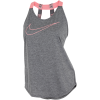 Nike-Dry Tank Top - Dame-Dark Grey/Htr/Bright-1506820