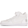 Nike-Court Borough Mid (PSV) - Børn-White/White-1513681