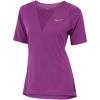 Nike-Zonal Cooling Relay T-shirt-Bold Berry-1552582
