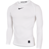 Nike-Pro Compression Top L/Æ-White/Black/Black-1574006