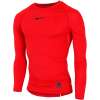Nike-Pro Compression Top L/Æ-University Red/Black-1574009