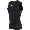 Nike-Pro Compression Top-Black/White/White-1574018
