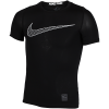 Nike-Pro Compression Top-Black/White-1604898