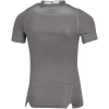 Nike-Pro Compression Top-Carbon Heather/White-1604899