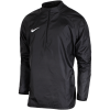 Nike-Academy 18 Shield Drill Top-Black/Black/White-1605916