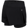 Nike-Eclipse 2-IN-1 Løbeshorts - Dame-Black/Black-1606120