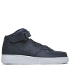 Nike-Air Force 1 MID '07-Obsidian/Obsidian-wh-1611313