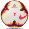 Nike-Merlin La Liga Official Matchball-White/Pink Flash/Tea-2006042